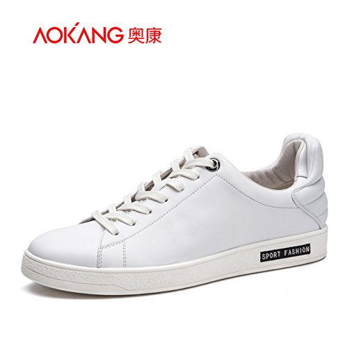 Aemember Chaussures Pour Hommes, Chaussures Pour Hommes Chaussures De Loisirs Chaussures Tous Les Jours Chaussures Chaussures Blanches, 38, Blanc