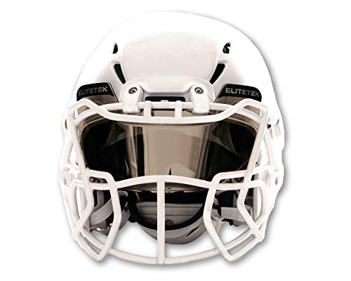 EliteTek Football & Lacrosse Eye-shield Visor (Mirrored Tint)