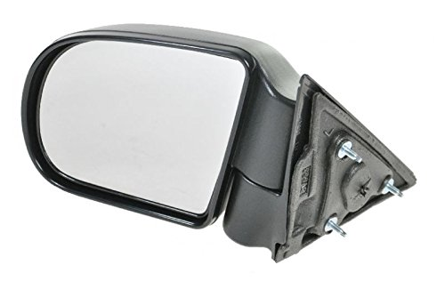 - Black Textured Manual Side View Mirror Driver Side Left LH for Blazer S10 Jimmy