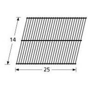 Music City Metals 92301 Steel Wire Rock Grate Replacement for Select Charbroil and Patio Kitchen Gas Grill Models (Patio Kitchen Grill)