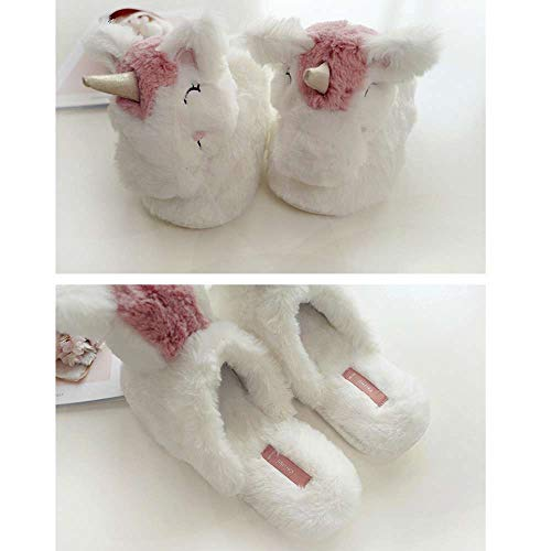 Slippers Slippers Gifts Memory Animal Unicorn Girls Women Foam Plush Backless Novelty wIOq5Aa
