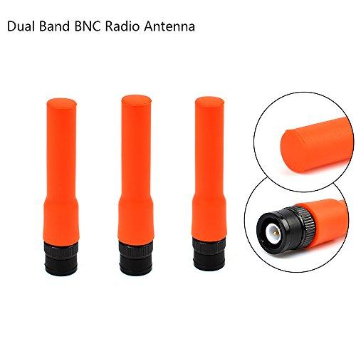 r Radio Antenna Dual Band 2M 70CM for Amateur Two Way Radio Ham Transceiver Icom IC-V8 IC-V80 IC-V82 Kenwood TK300 TK310 ()