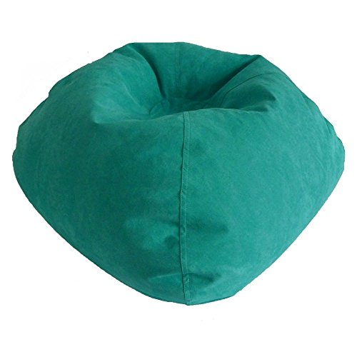 Ace Bayou 9801301 Large Microsuede Bean Bag Turquoise (Bean Bag Bayou Large)