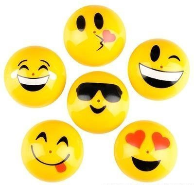 One Dozen Emoji Poppers  Party Favor Goody Bag Toy