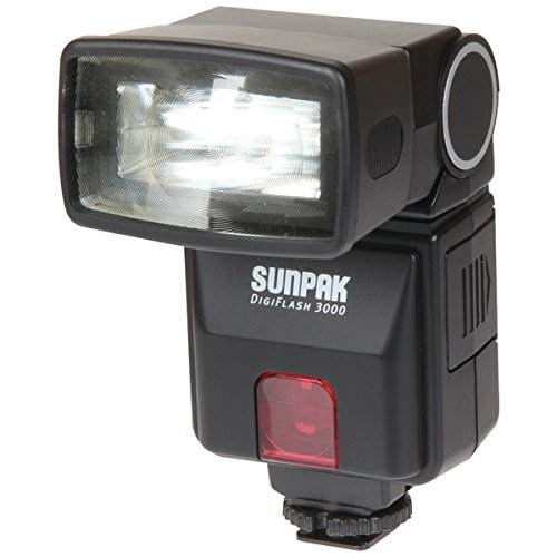 SPKDF3000CX - SUNPAK DF3000CX DF3000 Digital Flash for Canon DSLR Cameras