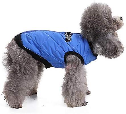 Chaqueta ReversibleDog Impermeable, Cálida Y Suave, para Mascotas ...