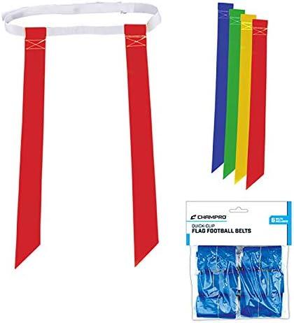 Champro a105Flag Belts、6パッケージ