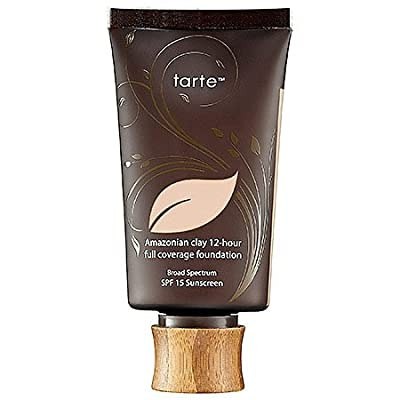 Tarte Cosmetics Amazonian Clay 12 Hour Full Coverage Foundation 1.7-Ounce Ivory (Fair w/ Pink Undertones)