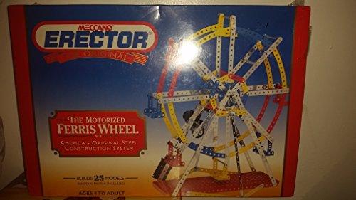 Meccano Erector The Original The Motorized Ferris wheel set 440 parts