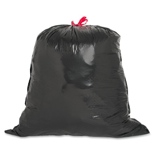 (Genuine Joe GJO01230 Expandable Drawstring Trash Can Liner, 30 Gallon Capacity, 32