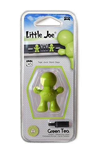 Little Joe Smiley 3D Car Air Freshener - GREEN TEA - Air 3d Freshener