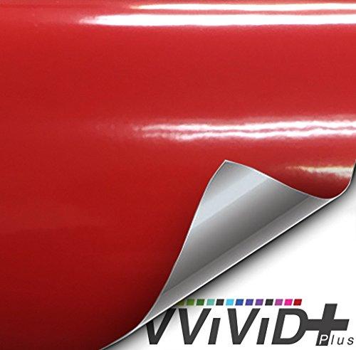 car wrap vinyl red - 5