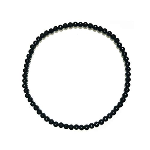 Authentic Power Negative Ion Tourmaline Beads Stretch Necklace