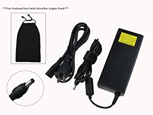 Toshiba 75W Global AC Adapter for Toshiba Satellite L505D Series: L505D-ES5025, PSLV6U-025007, L505D-ES5026, PSLV6U-04U02S, L505D-ES5027, PSLV6U-04V02S, L505D-GS6000, PSLV6U-01F009, L505D-GS6003, PSLV6U-092007, L505D-LS5001, PSLV6U-03P02S, 100% Compatible with PA3468U-1ACA. ***Free Notebook Parts Outlet Microfiber Adapter Pouch***