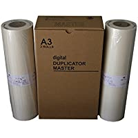 Wholesale Widgets Brand Masters Compatible with New Riso S-5467 / Old S-2632 Duplicator HD Masters. Box of 2 RISS5467C