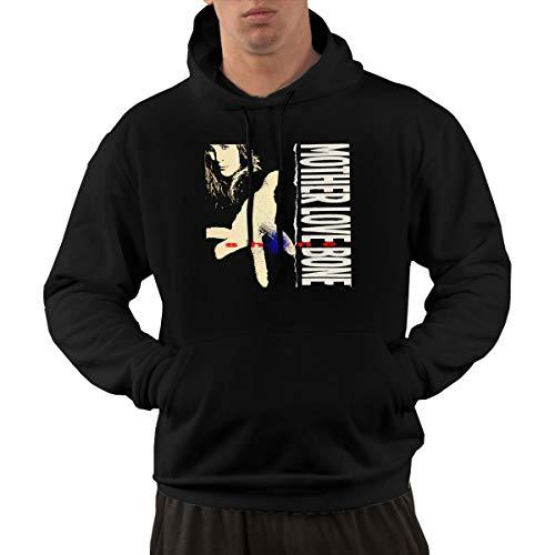 815b0e9efd4b0b NolanO Mother Love Bone Shine Mens Hoodies Sweatshirt With Pocket L Black
