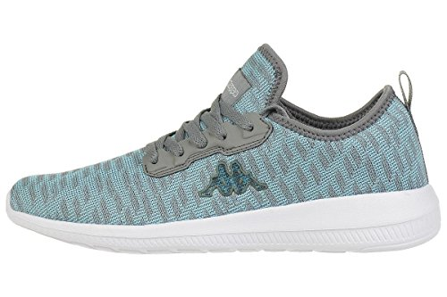 Kappa Gizeh Sneaker Unisex Shoes Trainers Mint/Grey