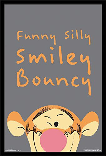 Trends International Wall Poster Tigger Bouncy, 22.375 x 34