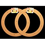 """2 Pack, 12"""" Biodegradable Floral Craft Ring, Ez Glueable Wreath Form, for Photo Frame, Candle Ring, Etc"""