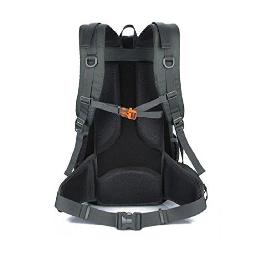 Z&N 40-50L De Gran Capacidad Mochila Al Aire Libre Portable Del Alpinismo De Los Deportes Bolso De Hombro Caminando Unisex Bolso De Equipaje Acampa Impermeable Anti-RasgóN A 40-50L B