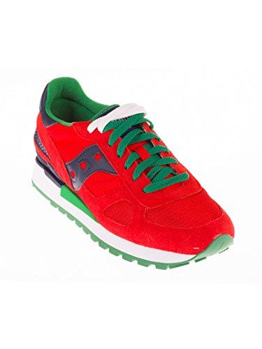 Saucony - Zapatillas para hombre rojo rojo rojo Size: 45