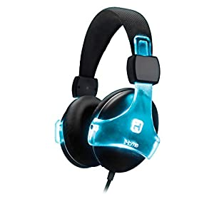 iHome Bluetooth Color Changing Rechargeable Headphones with Mic and Remote - iB91BC