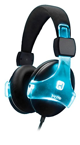 Bluetooth Color Changing Rechargeable Headphones with Mic and Remote - iHome IB91BC
