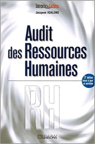 Lire un Audit des ressources humaines epub pdf