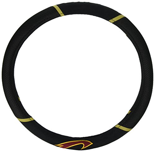 Car Cavaliers Mats (FANMATS 17205 NBA - Cleveland Cavaliers Steering Wheel Cover)