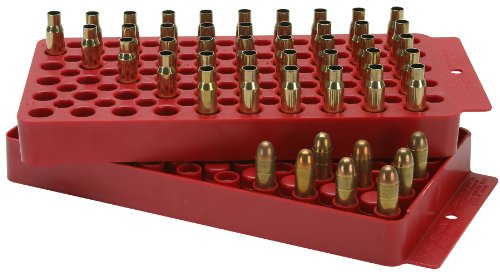 (MTM Universal Ammo Loading Tray Red (includes one tray))