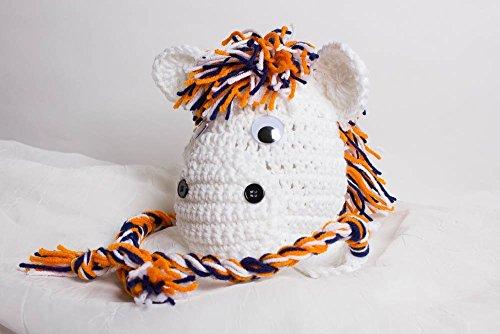 Crochet Broncos Inspired Hat