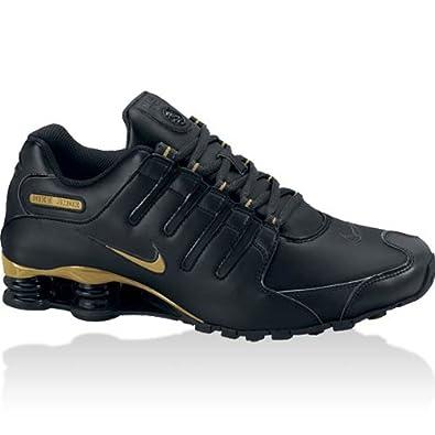 Nike Shox Schwarz Gold Schuhe