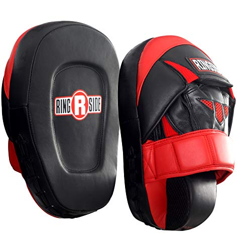 - Ringside Pro Punch Mitts, Red/Black