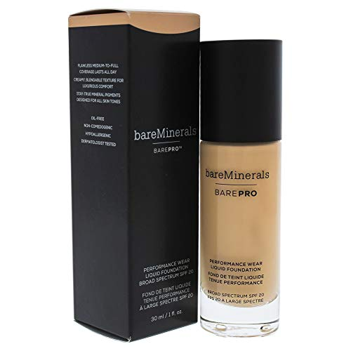 BAREPRO PERFORMANCE WEAR LIQUID FOUNDATION SPF 20 – No.11 Natural