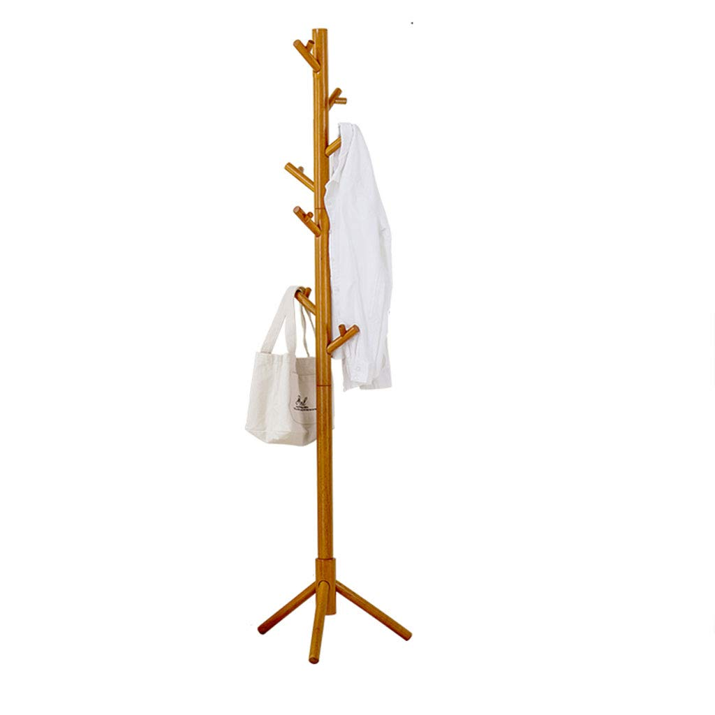 HXGL-coat rack Perchero de Madera Maciza de pie Perchero de ...