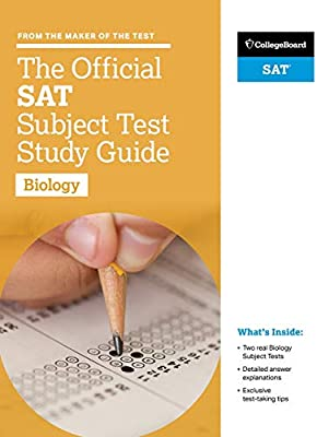 Amazon com: The Official SAT Subject Test in Biology Study