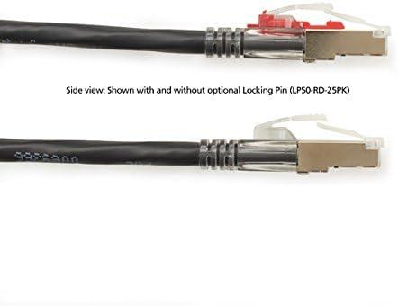 Black GigaBase/Â 3 CAT5e 100MHz Shielded Stra