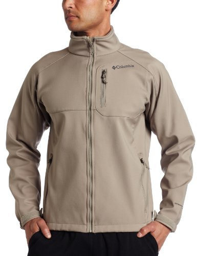 Columbia Men's Ascender II Softshell Jacket, Tusk, X-Large