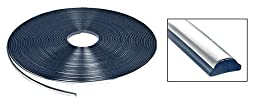 Chrome Lock Strip for 1973-1990 Chevy/GMC Truck Windshield - 100 Foot Roll