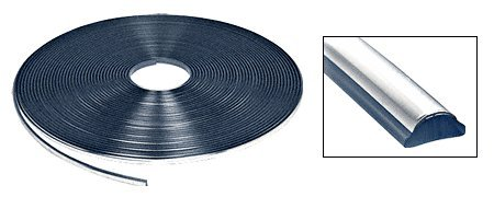 Chrome Lock Strip for 1973-1990 Chevy/GMC Truck Windshield - 100 Foot Roll by CRL