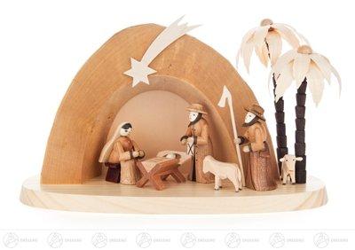 x の深さ 10 cmx11 cmx8 cm の鉱石山のクリスマスの装飾のテーブルの装飾の誕生そして付属品のクリスマスの誕生の一定の幅 X の高さ B06WVFT5F9