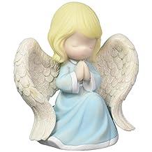 Precious Moments Praying Angel Music Box Resin 163110, Multicolor