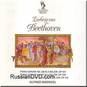 Beethoven - Piano Sonata No. 28 in A Major, Op. 101, Piano Sonata No. 30 in E Major, Op. 109, Piano Sonata No. 31 in A Flat Major, Op. 110 - Alfred Brendel ()