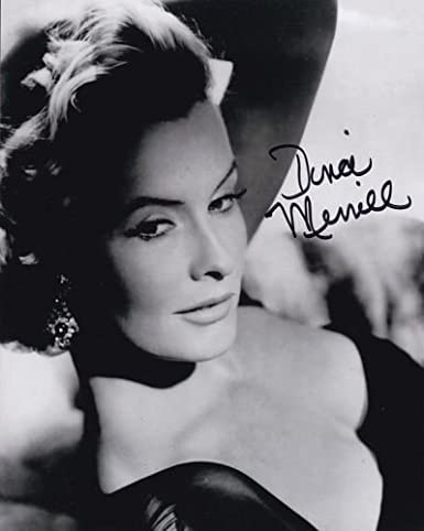 Dina Merrill Hand Signed 8 X10 Autographed Entertainment Memorabilia Movies