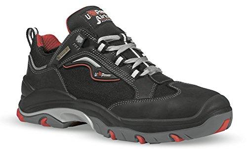Zapatos de Seguridad Piel Pull-up Insertos en Cordura Hidròfuga Led Gtx S3 WR U-Power
