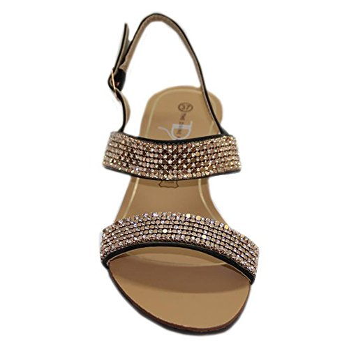 STEKOST - Zapatos con correa de tobillo Mujer negro