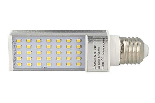 Lampade E27 A Led.Led Lamp E27 Plc Ac 24v 36v 48v 60v 7w Neutral White Amazon