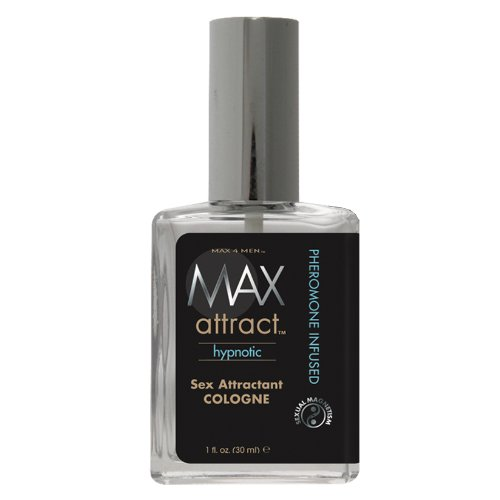 Max 4 Men Sex Attractant Cologne 1 Fl Oz (Pheromone Cologne Attractant)