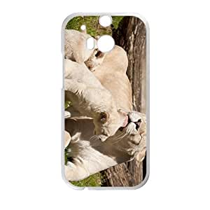 Lions Family Custom Protective Hard Phone Cae For HTC One M8