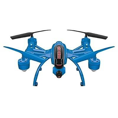 World Tech Toys Elite Mini Orion 2.4GHz 4.5CH LCD Live-View Camera RC Drone, White/Black/Blue/Red/Glow, 12 x 12 x 4: Toys & Games
